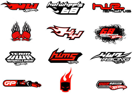hotwheels logo design branding package for consumer product graphics boys merchandise international