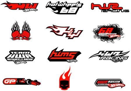 hotwheels logo design branding package for consumer product graphics boys merchandise international