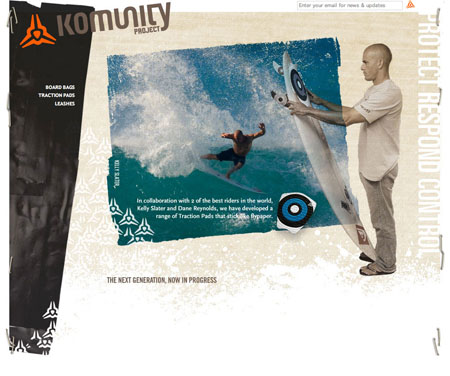 komunity project web design firm BXC of Orange County