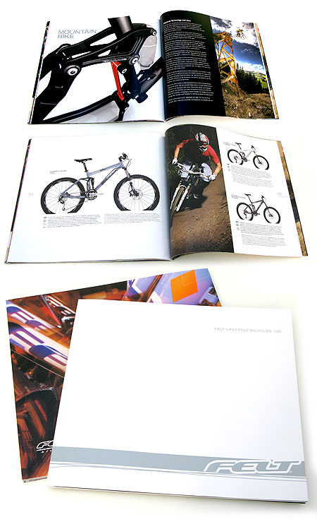 Bikes Catalog and for Felt Bicycles