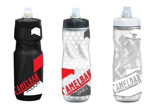 camelbak hydration water bottles podium series graphics designed by bxc california action sports branding and design firm in orange county