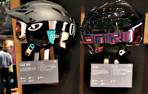 BXC designed Giro snowboard and ski product graphics at SIA Goggles and helmets orange county ad agencies