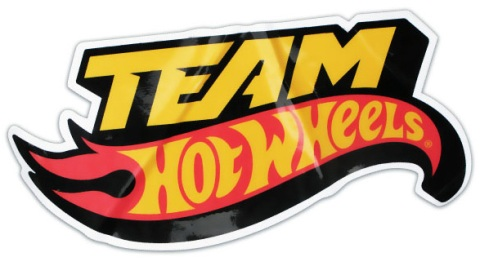 team hot wheels logo designers