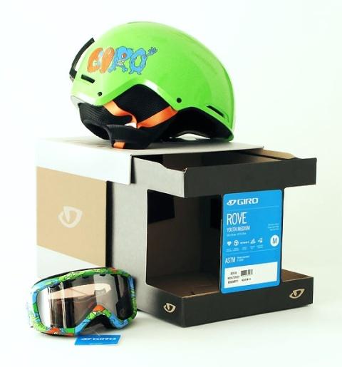 packaging design bxc nicelogo giro helmets goggles